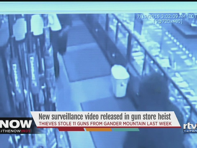 Police release surveillance video of Gander Mountain robbery