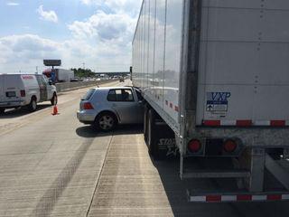 Crash slows I-70 WB at Marion-Hancock line