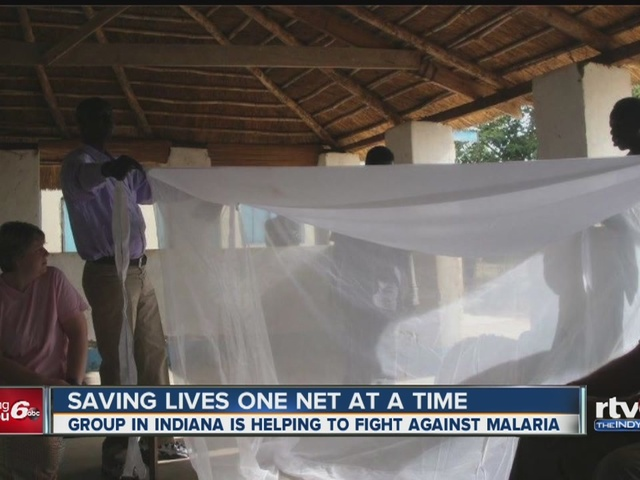 Hoosiers helping save lives in malaria fight