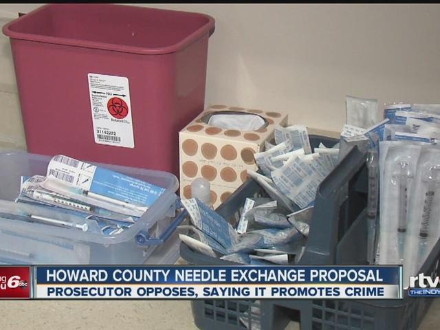 Howard County working on needle exchange program