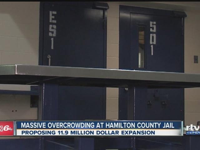 Massive overcrowding at Hamilton County Jail