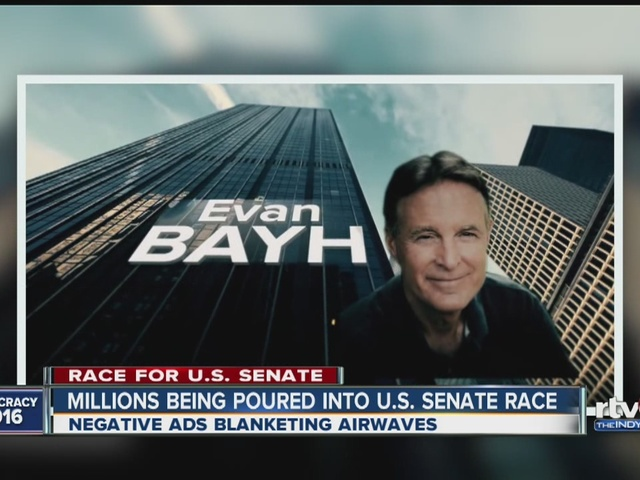 Millions being poured into U.S. Senate Race