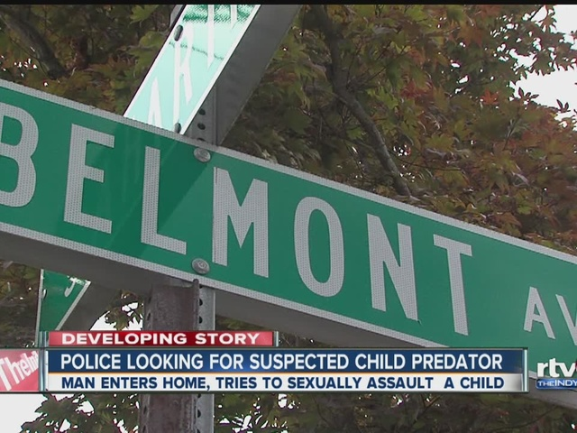 Police looking for suspected child predator