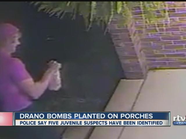Drano bombs planted on Pendleton porches