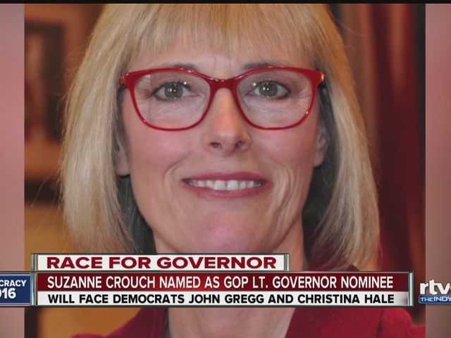 Eric Holcomb chooses state auditor as running mate