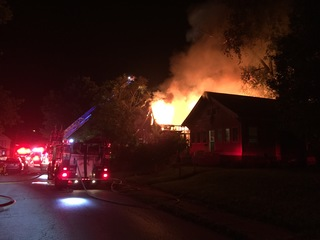 Fire damages three near-east side houses