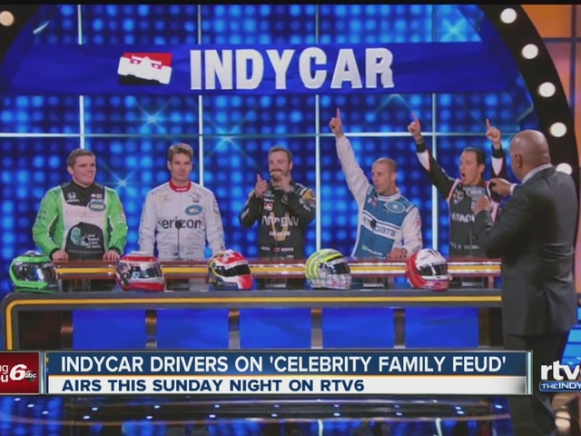 IndyCar drivers to appear on celebrity family feud