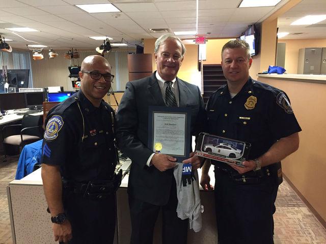 Jack Rinehart honored by IMPD