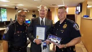 Jack Rinehart named 'Chief for a Day' by IMPD