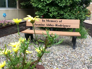 Garden, bench remember Perry Meridian student