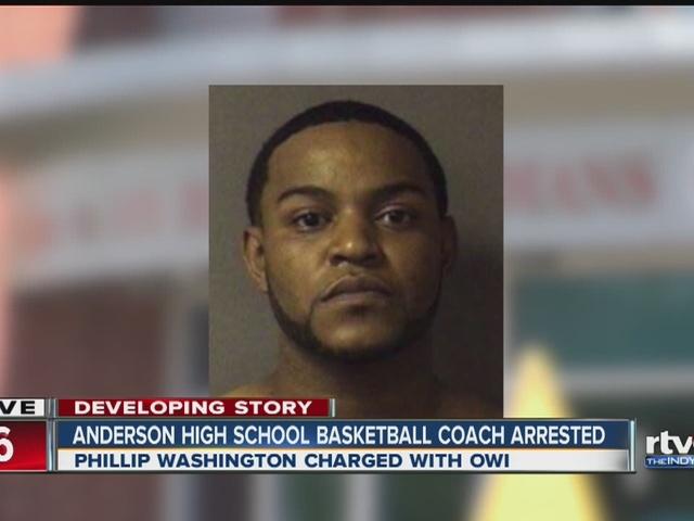 Anderson High School basketball coach arrested