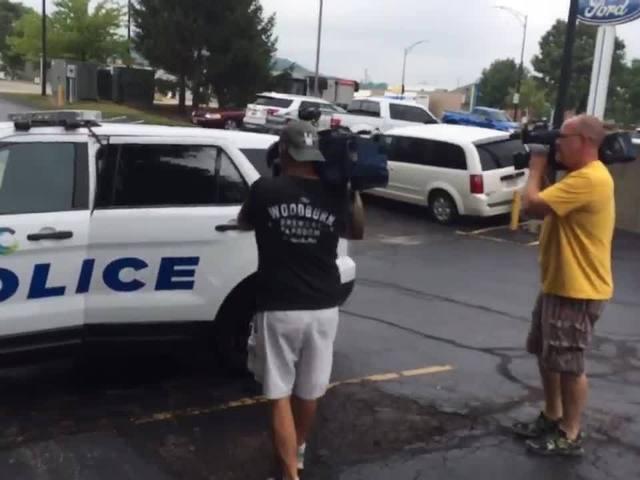 Indianapolis police officer arrested in Cincinnati