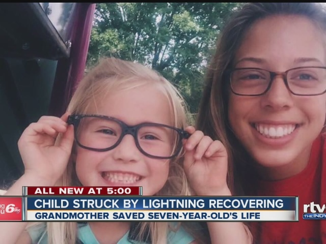 Indy Gas Prices >> Doctors: Grandma saved girl's life after lightning strike ...