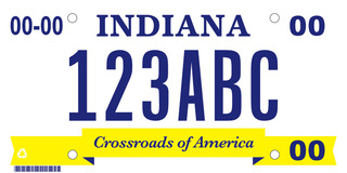 Ind. man wins battle for 'athiest' license plate