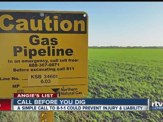 Angie's List: Call before you dig