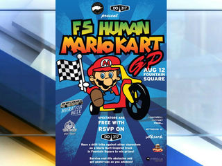 How about some human Mario Kart this weekend?