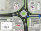 4 new roundabouts under construction in Carmel