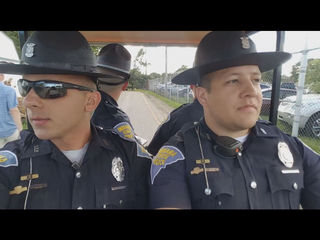 WATCH: Troopers lip sync to 'Summer Nights'
