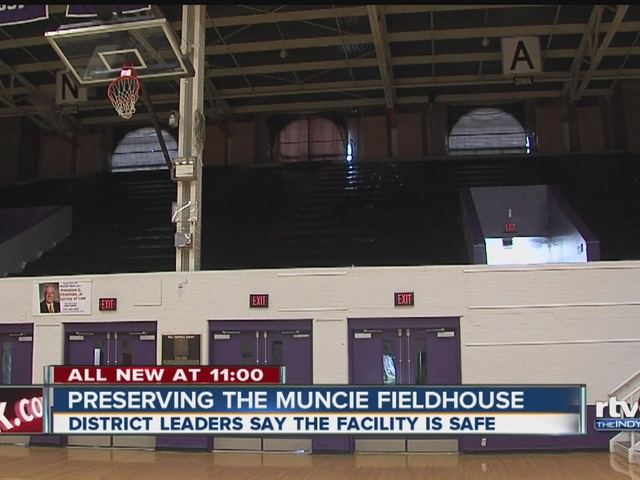 Plan unveiled to preserve the Muncie Fieldhouse