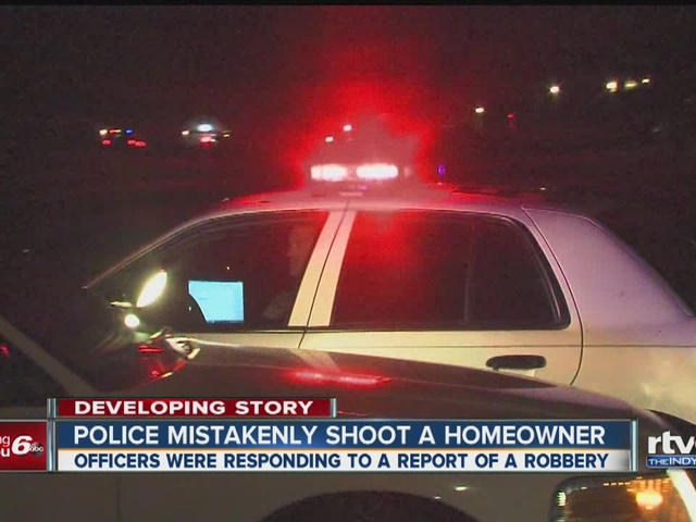 Police mistakenly shoot a homeowner