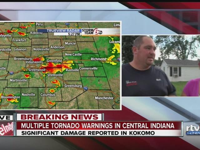 People of kokomo on tornado damage