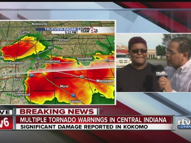 People of kokomo talk about tornado damage