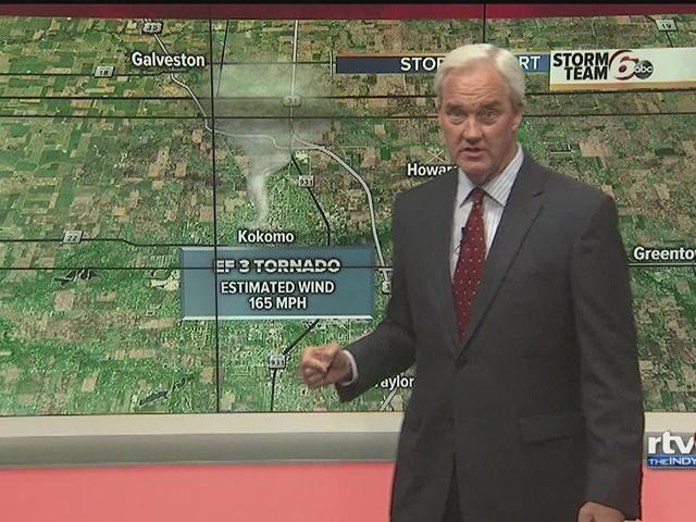 TIMELINE: Tornado outbreak across Indiana