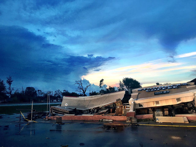 Cleanup begins day after tornadoes
