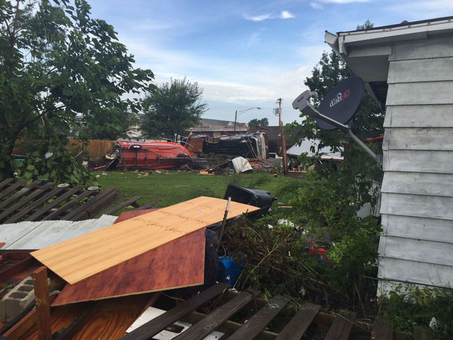 NWS: 8 tornadoes touched down Wednesday