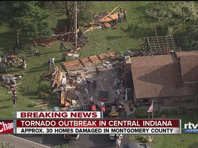 Montgomery County hit with EF2 tornado