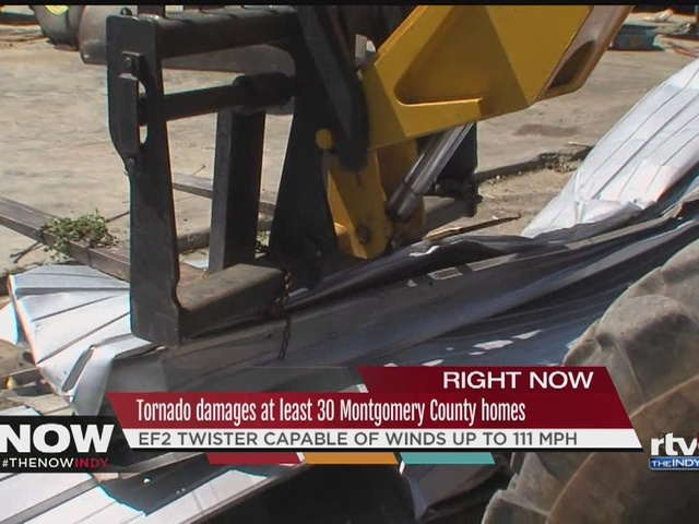 Montgomery County homes destroyed in tornado
