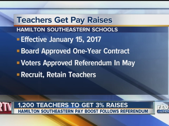 More than 1,200 teachers to get pay raises