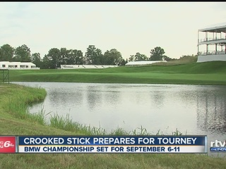 Crooked Stick preps for BMW Championship