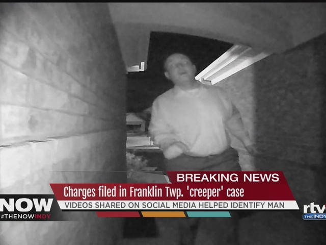 Franklin Township man faces charges in creeper case