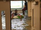 LOOK: Indians go swimming in flooded dugouts