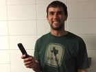 Luck gets a new phone, but still a flip phone