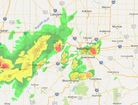 Interactive Radar: Track storms as they move