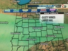Friday night T'Storms, possibly severe