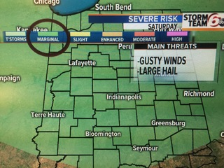 More storms possible this weekend