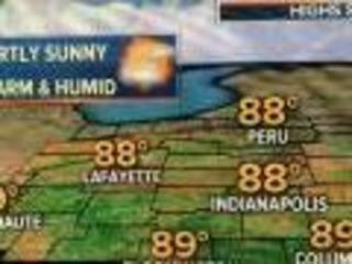 Today: Warm and humid with afternoon downpours
