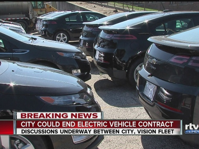 City could end electric vehicle contract