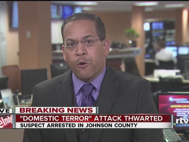 Indy man accused of plotting domestic terrorism