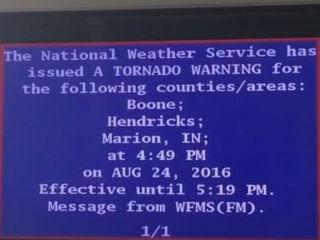 Comcast gets flak for overriding storm coverage