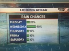 Iso. downpours next 2 days. Big changes Thursday