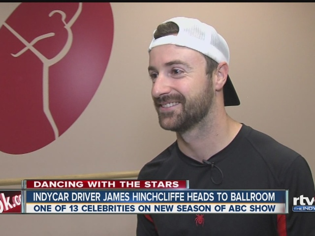 James Hinchcliffe talks about joining Dancing With the Stars