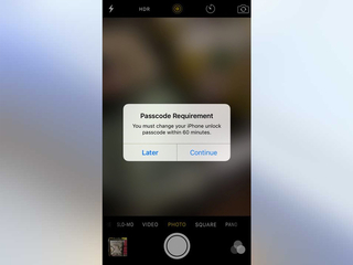 Strange iPhone passcode popup: scam or legit?