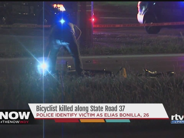 Bicyclist killed after being hit by two vehicles in Fishers