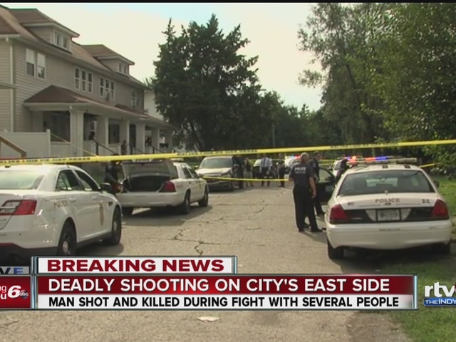 Shooting on Indianapolis' east side leaves one man dead