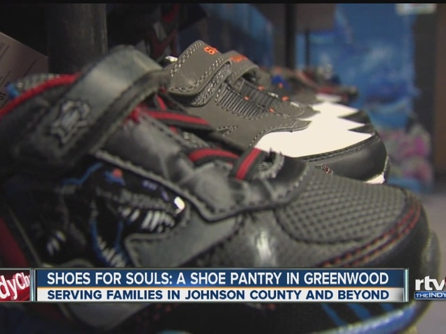 'Shoes for Souls' - Greenwood church giving out free shoes