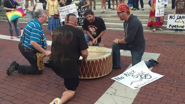 Tribal Protest Spurs Halt to Pipeline in North Dakota